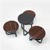 KNM Tiide parkmöbler, pallar och runt bord