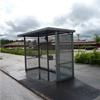 KNM väderskydd Vemo med sträckmetall