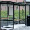 KNM väderskydd Enkel med välvt tak