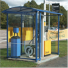 KNM väderskydd bensinpumpsskydd