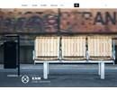 KNM Cykelställ på webbplats