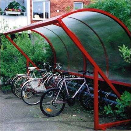 KNM cykelparkering/tak