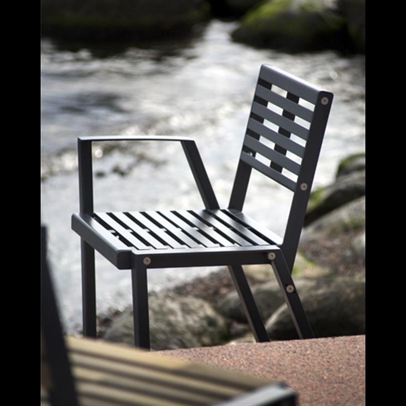 EXTERY Klaar steel stol