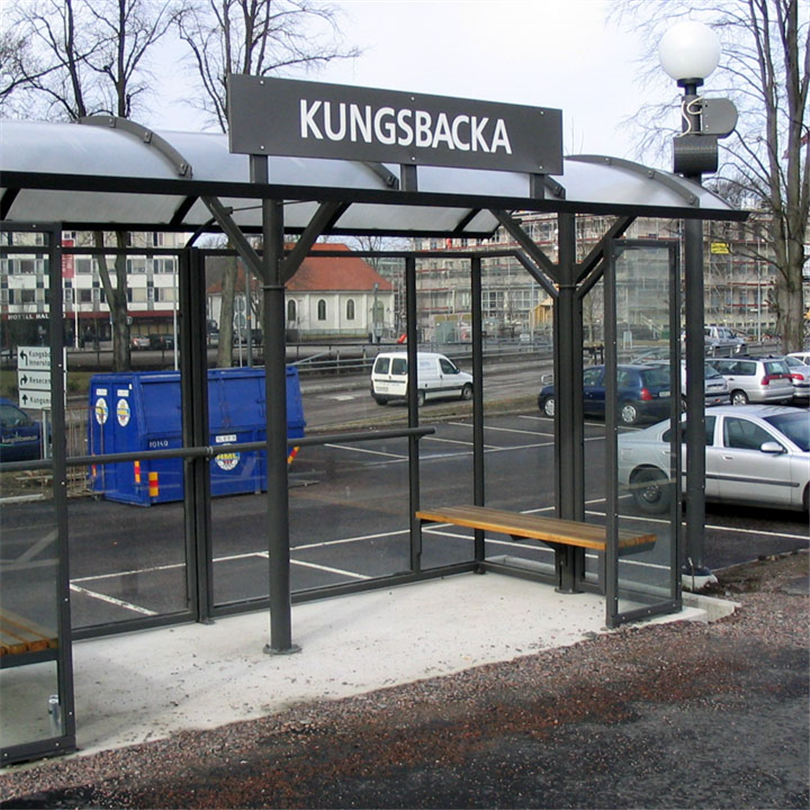 KNM skärmtak, väderskydd Kungsbacka