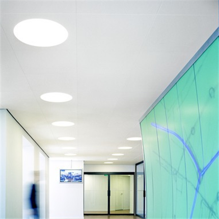Ecophon Lighting™ undertaksbelysning