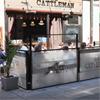 Café au Lä, höj- och sänkbart vindskydd för restauranger