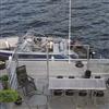 Svalson Cit i Lä inglasning på båtbrygga
