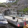 Svalson Cit i Lä inglasning på brygga i Norge