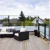 Cit i Lä®, höj och sänkbart vindskydd för uteplatser