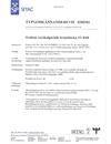 Typgodkännandebevis 0305/01
