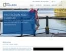 Executive skjutlucka på webbplats