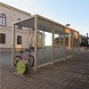 Team Tejbrant AB, Cykeltak SHARP Plaza med Arcställ och ALTAO pump, Härnösand