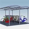 City 90 Dubbelt cykeltak