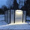 Team Tejbrant miljöhus med LED-belysning