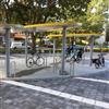 Team Tejbrant palette cykeltak, Sundbyberg