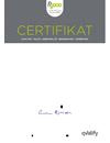 FR2000 Certifikat