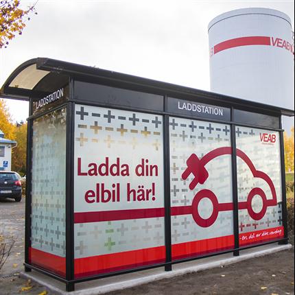 Team Tejbrant AB, City 90 Laddstationsskydd, Växjö