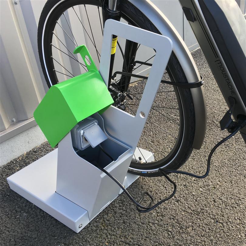 Team Tejbrant Cykelställ ALTAO Laddstation