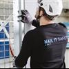 Norgips Nail It Safety säkerhetsvägg med Ultraboard gipsskivor