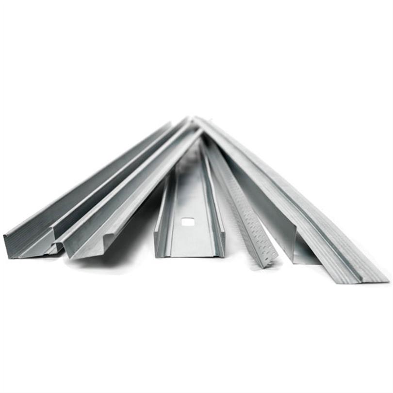 Stålprofiler för väggar och tak