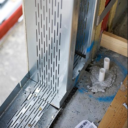 Gyproc THS/THSP slitsad skena