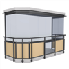 Weland balkonginglasningssystem Faber