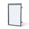 Weland fönsterdörräcke FR400 med högt glas