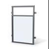 Weland fönsterdörräcke FR400 med lågt glas