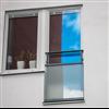 Weland fransk fönsterdörr/-räcke FR400 med lågt glas