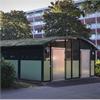 Weland miljöstation/miljöhus Tellus Duo