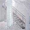 Weland raka aluminiumtrappor, Icehotel, Jukkasjärvi