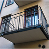 Weland stålbalkong med balkongräcke Stockholm