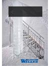 Weland Raka trappor av aluminium