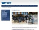 Weland cykelparkering på webbplats