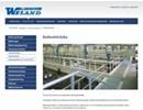 Weland industriräcken på webbplats