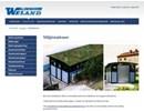 Weland miljöstationer, miljöhus på webbplats