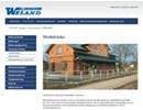 Weland modulräcken på webbplats