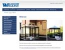 Weland rökrum på webbplats