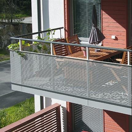 Weland balkongräcken Standard