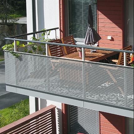 Weland balkongräcke Standard