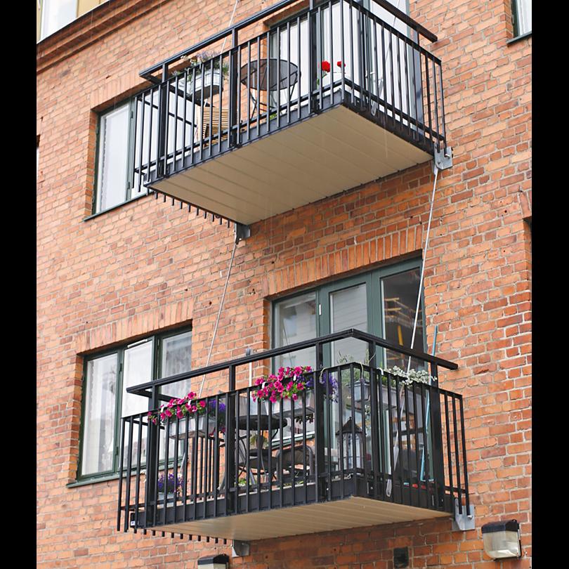 Weland balkongplattor av aluminium
