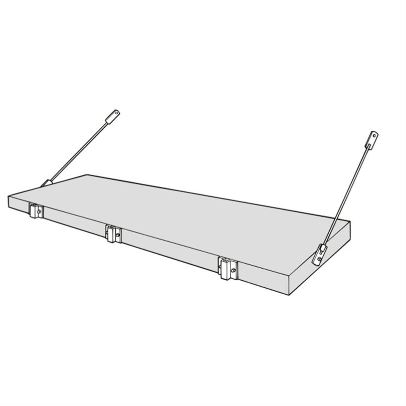 Weland balkongplattor nosförlängning