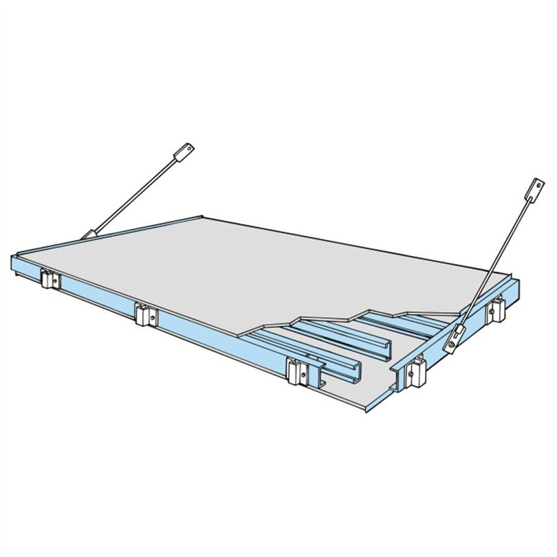 Weland stålbalkong U-profil