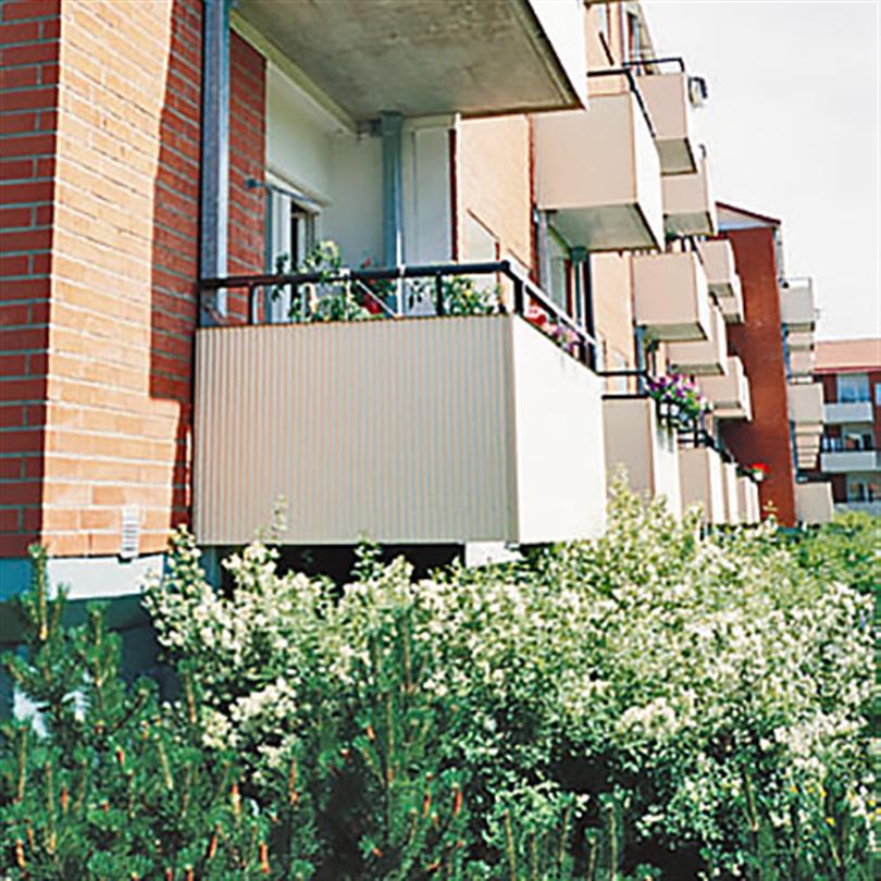 Balkongplattor i aluminium eller betong