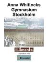 Hörsalsstolar, Anna Whitlock Gymnasium Sthlm
