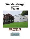 Teaterfåtölj, Wendelsberg Folkhögskola Teater