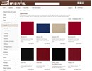Ilmotex Textil - Sammet på webbplats