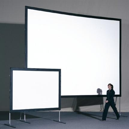 Ilmo film-/projektionsdukar, ramspända