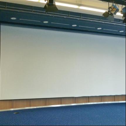 Ilmo film-/projektionsdukar, rullbara