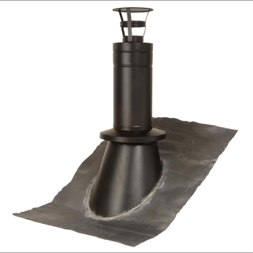 Nordiska Skorstensprodukter Modulex 2 svart